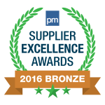 Supplier Excellence Awards Bronze Greeting Cards 2016