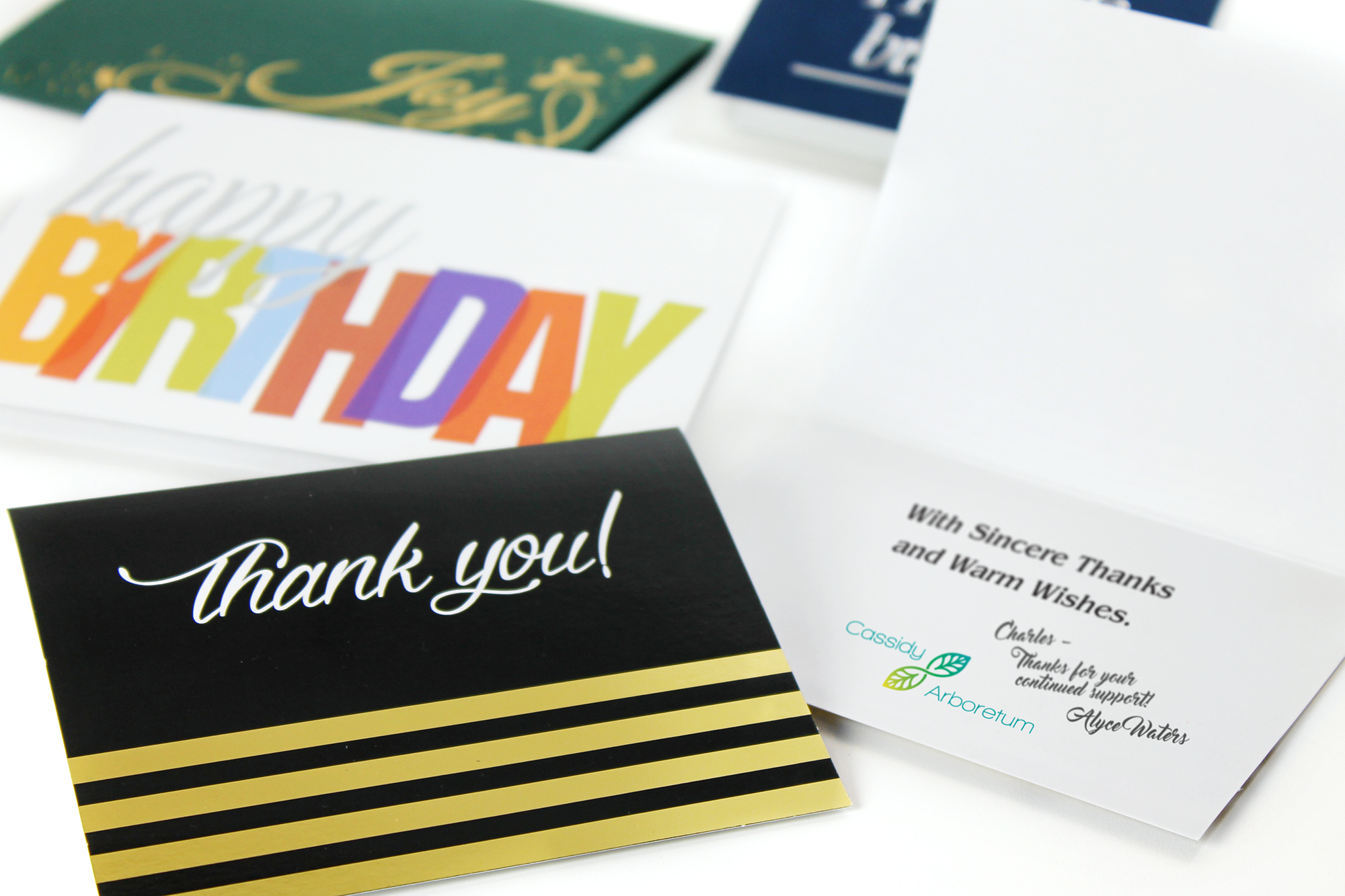 How to use business greeting cards to strengthen customer custom business greeting cards m4hsunfo