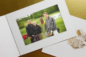 Sell Promotional Products golf photo folders